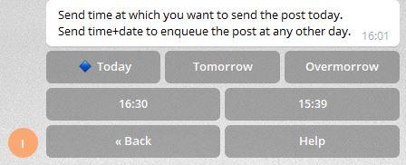 Schritt 8 Telegram Bot Post erstellen für Channel