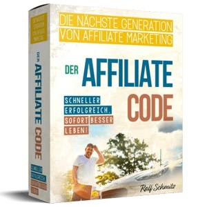 ▷ Der Affiliate Code 🥇 Ralf Schmitz – NUR 3 Tage Zeit!