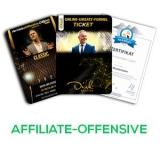 Affiliate Offensive 2021 🥇 Erfahrungen, Inhalte, Bonus, Speaker, Preise, Kosten ✓