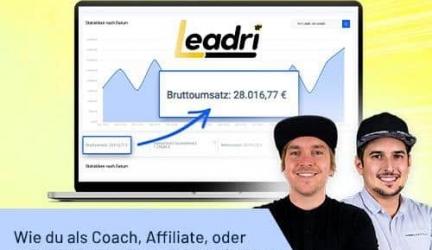 Leadri [Tausende LEADS] die Software Revolution 🥇 Converttools