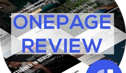 Onepage Pagebuilder Erfahrungen – Marcel Knopf (Fastlane Marketing GmbH)